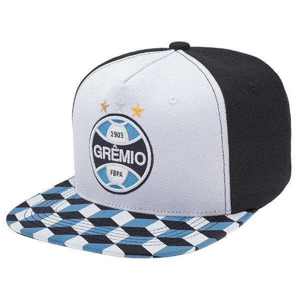 BONÉ PERSONALIZADO GRÊMIO - ABA RETA TRICOLOR - SuperCap 22e21fec2b1